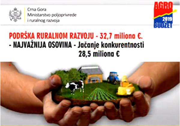 U 2019. veća podrška ruralnom razvoju