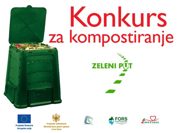 Javni konkurs za zainteresovane za kompostiranje