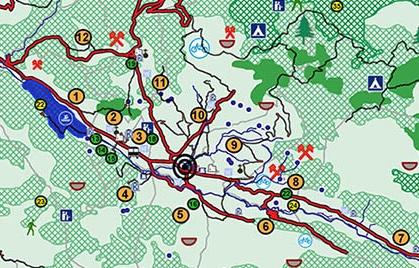 Izrada turističke karte Župe