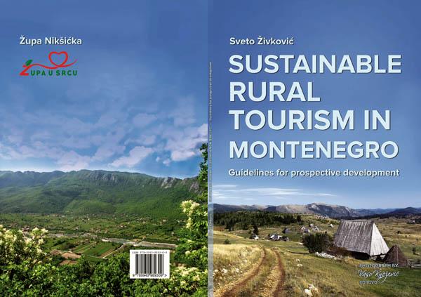 Publikovana knjiga ''Održivi ruralni turizam u Crnoj Gori''