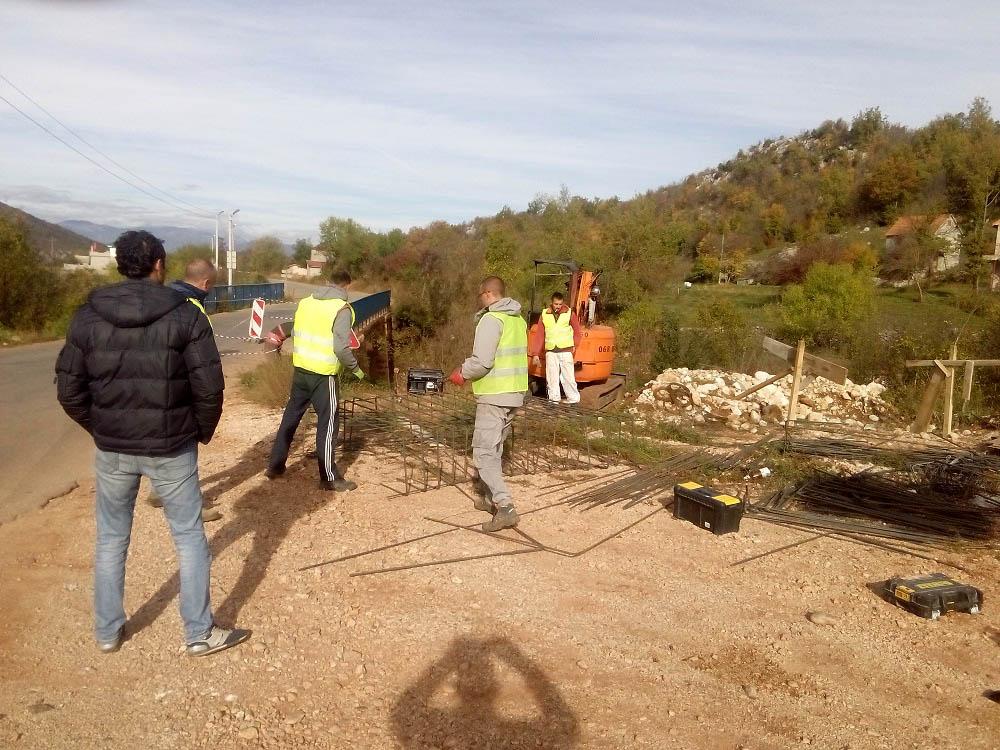 Počela sanacija mosta kod Krstovača