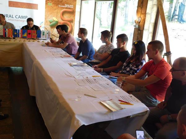 Mladi učesnici Ruralnog kampa na Vučju