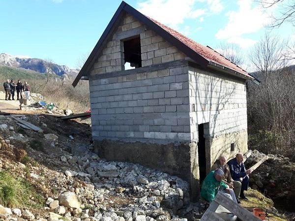 Završen krov na vodenici u Bjeloševini