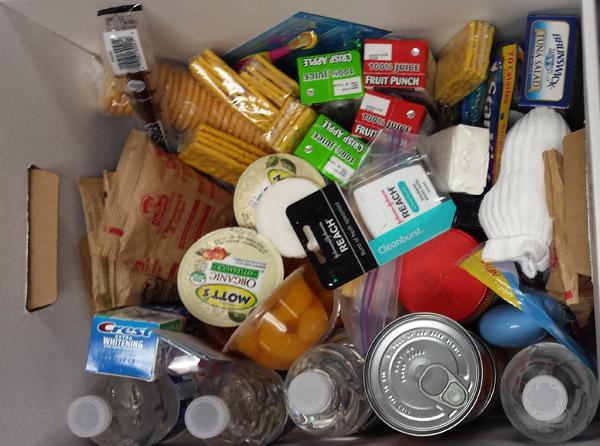 Akcija prikupljanja hrane u Župi